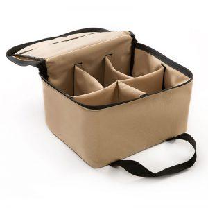 SmithCases custom padded photography bag.