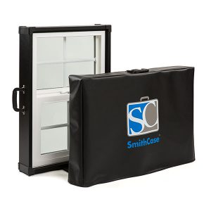 Custom SmithCase case cover with logo